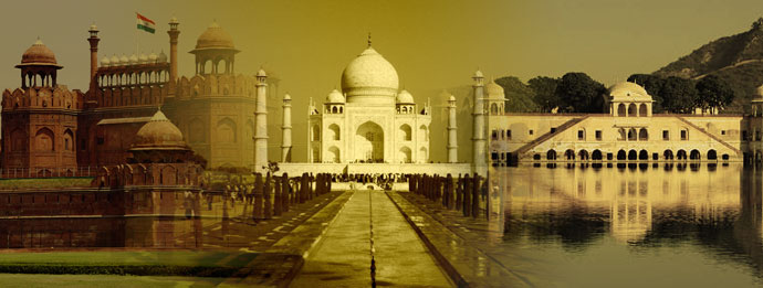 Golden Triangle in India - Delhi Agra Jaipur
